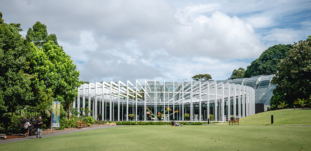 The Calyx at the Royal Botanic Gardens Sydney